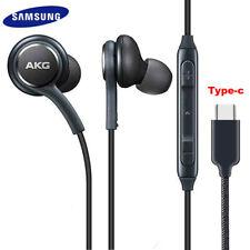 Type C Samsung Headphones Earphones Wired Headset For Galaxy Note 10 S10 S20 New