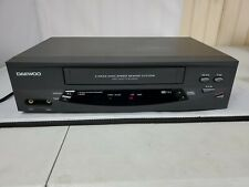 Daewoo Dv-T5Dn Vcr 4 Head Vhs Video Cassette Player Recorder No Remote *Works*