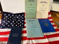 Rare Vintage Masonic Mason Book Lot with American Flag Bonus CHARTER More 04-60