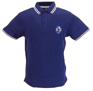 Mens Navy The Who 100% Cotton Polo Shirt