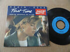 "DISQUE 45T DE ROBIN BECK "" FIRST TIME "" PUB COCA COLA"
