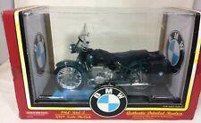 TootsieToy MIB 1:10 Scale 1960 BMW R60/2 in Green w/ Accessories 3303