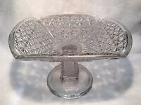 """Rounded Square Footed Serving Dish/Bowl 6-1/2"""" Tall, 9-1/2"""" x 9-1/2"""""""