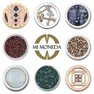 Mi Moneda Interchangeable Coins SWAROVSKI Crystals GREAT GIFTS up to 40% OFF