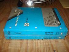 1997 GEO CHEVY PRIZM SERVICE MANUAL SET ORIGINAL GM SHOP BOOKS REPAIR NICE