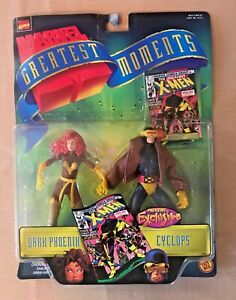 Marvel Greatest Moments X-Men Phoenix & Cyclops Action Figures NEW