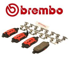 For Infiniti M35 Nissan Maxima Rear Brake Pad Set Ceramic & Lube & Clips Brembo