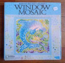 Window Mosaic Craft Kit Art Easy To Do Stick It Easy Item 3555 Toysmith Ages 7+