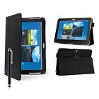 """étui en cuir Housse Pour Samsung Galaxy Tab A 2/3 / 4 10.1 pouce 8"""" 7"""" P3100"""