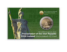 2 EURO COMMEMORATIVE D'IRLANDE 2016 BU - PROCLAMATION DE LA REPUBLIQUE