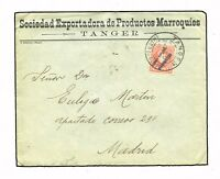 MARRUECOS TANGER A MADRID. FACTURAS EN INTERIOR