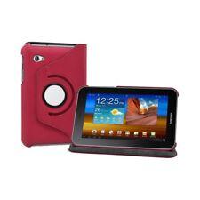 Housse coque étui pour Samsung Galaxy Tab 7.0 Plus P6200 couleur rouge