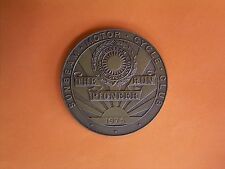Sunbeam Motor Cycle Club - The Pioneer Run - Participants Medal 1975
