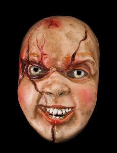Maske Chucky-Halloween-Horror-Papier Mache Venetian - 885 -VG4