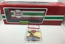 LGB The Big Train 44850 Freight Car - G Scale - Complete w/ Box & Spare Parts
