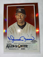 2020 Topps Chrome A&G MARIANO RIVERA  Red Refractor AUTO /5 YANKEES 🐐 HOF⌛️