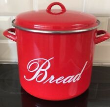 Judge Induction Red Bread Crock