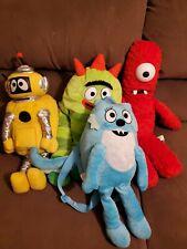 Plex, Mono (stuffed), Robi, Toodee Backpack Yo Gabba Gabba