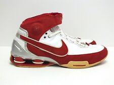 2007 Nike Shox Elite II TB Men's Basketball Shoes Maroon/White Size 11(US)
