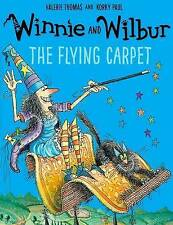 Winnie the Witch Story Book - WINNIE & WILBUR:  THE FLYING CARPET -  NEW