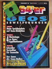 64´er Sonderheft Nr.: 48 : GEOS - ANWENDUNGEN, Sonderheft mit Disk #*#