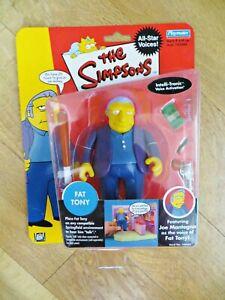 PLAYMATES THE SIMPSONS 142043 'FAT TONY FIGURE' SERIES 1. MIB/BOXED