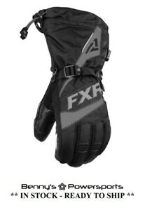 FXR Men's Fuel Glove Insulated Snowmobile Winter Riding Snow Waterproof Warm