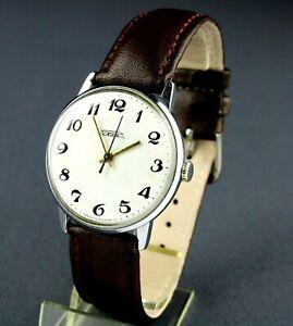 RAKETA 2609.HA Rocket Vintage Soviet Mechanical Wristwatch SERVICED USSR CCCP ☭