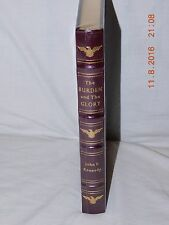 Easton Press The Burden and the Glory John F. Kennedy  NEW/SEALED