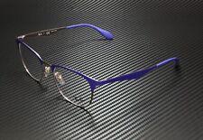 RAY BAN RX6346 2972 Copper On Top Violet Demo Lens 52 mm Unisex Eyeglasses