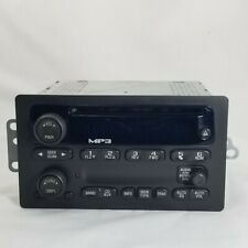 2007 Chevrolet Colorado GM Part # 15837848 AM FM RADIO STEREO MP3 CD PLAYER OEM