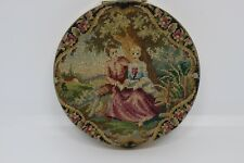 Micro Petit Point Compact Powder Vintage Austrian