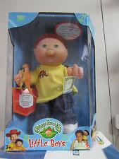 RARE NIB 1999 Red Hair Cabbage Patch Little Boys Ed. Desmond Ansell & Dinosaur