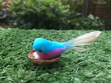 Cute Miniature Little Bird Egg Nest Handmade Garden Decor Collectible