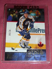 03-04 UD Exclusives #226 Marek Zidlicky1/50 Young Guns Rookie YG RC * First 1/1