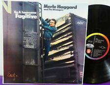 MERLE HAGGARD & The STRANGERS PROMO LP CAPITOL AUSTRALIA MONO T2702 MINT