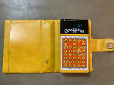 New ListingVintage 1970s Texas Instruments Electronic Spelling B Bee Game w Case 1978