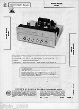 Bogen Ap-40 Stereo Amplifier - Sams Photofact Tech Docs