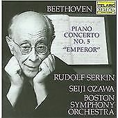 Ludwig van Beethoven : Piano Concerto No. 5 (Serkin, Ozawa, Boston So) CD