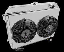 "3 Row Radiator Fans & Shroud for 1967-1973 MOPAR Big Block 26"" Lifetime Warranty"