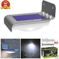 4/16 LED Solar Power Motion Sensor Garden Security Lamp Outdoor Waterproof Light