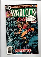 Marvel Warlock #13 Starlin Art 1976 Vf/Nm Vintage Comic