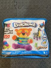 SpinMaster Bunchems Bunchems! 1250 pc Mega Jumbo Pack + Storage Bag Brand New