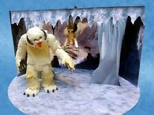 "Wampa Ice Cave Custom Pop Up Playset for Hasbro Kenner Star Wars 3 3/4"" Figures"