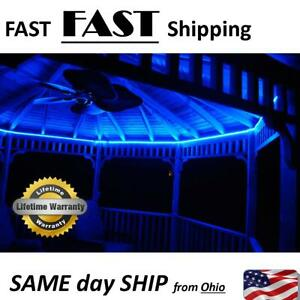 Gazebo Lighting KIT - all colors - with effects - Fancy Outdoor Lighting DIY KIT