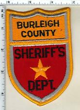 Burleigh County Sheriff's Dept (North Dakota)  Shoulder Patch - from the 1980's