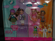 2007 BARBIE KELLY CLUB, KELLY & TOMMY I CAN BE SPORTS BUNCH GIFT SET!!