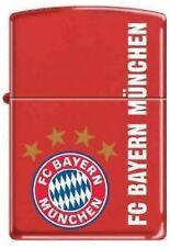 Zippo en TU MECHERO fc bayern munich rojo mate 2002894, fútbol-Zippo FC Bayern