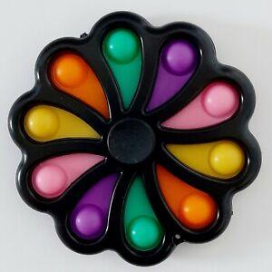 Push Pop Fidget Spinner Toy