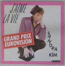 Sandra Kim 45 Tours Eurovision 1986